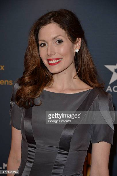 Actress Lauren Hammersley arrives at the Canadian Screen AwardsÊat Sony Centre for the Performing Arts on March 9 2014 in Toronto Canada