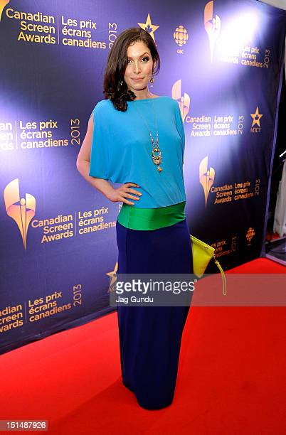 Actress Lauren Hammersley attends the Rising Stars 2012 Academy Of Canadian Cinema Television Party during 2012 Toronto International Film Festival...