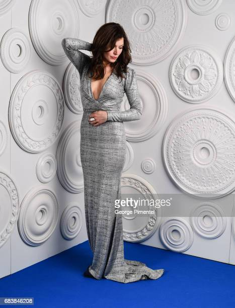 Actress Lauren Hammersley poses in the ETalk Portrait Studio at the 2017 Canadian Screen Awards at the Sony Centre For Performing Arts on March 12...