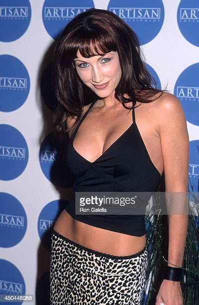 Actress Lauren Hays attends Artisan Entertainment Kicks Off the Awards Weekend on March 24 2000 at Quixote Soundstage in West Hollywood California