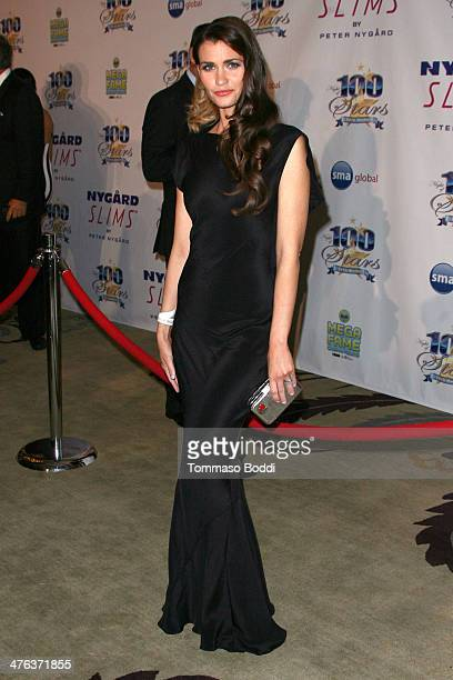 Actress Lauren Hill attends the Norby Walters' 24nd annual Night Of 100 Stars Oscar viewing gala held at the Beverly Hills Hotel on March 2 2014 in...
