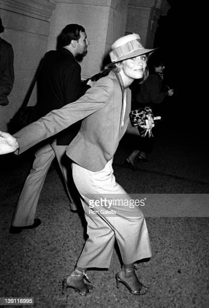 Actress Lauren Hutton attends the party for Richard Avedon Opening on September 13 1978 at Xenon Disco in New York City