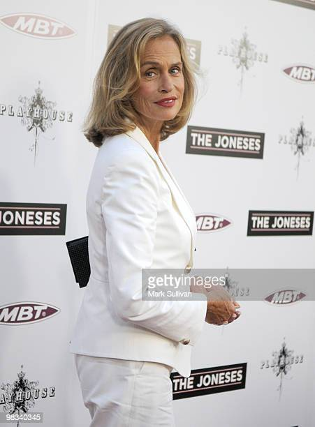 Actress Lauren Hutton attends the 'The Joneses' Los Angeles Premiere at ArcLight Cinemas on April 8 2010 in Hollywood California