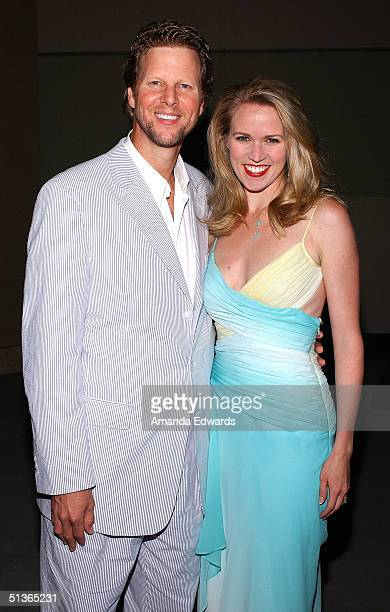 Actress Lauren Kennedy and Alan Campbell attend the after party for 'The Ten Commandments The Spectacle Musical' at the Kodak Theatre Ballroom...