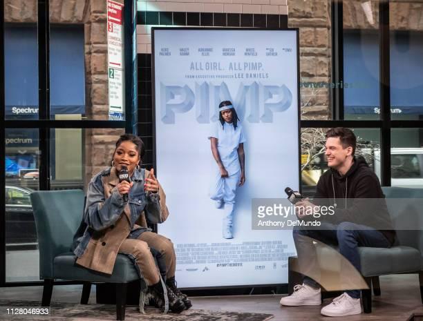 Actress Lauren Keyana Keke Palmer talks about her movie Pimp at Build Studio on February 07 2019 in New York City