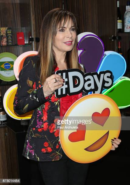 Actress Lauren Koslow attends the Day Of Days a very special Days Of Our Lives fan event at Universal CityWalk on November 11 2017 in Universal City...