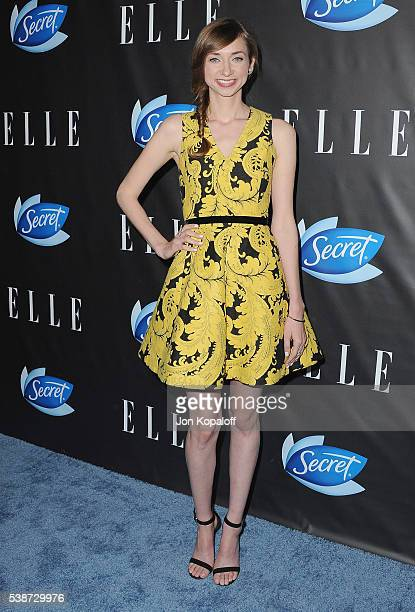 Actress Lauren Lapkus arrives at ELLE Hosts Women In Comedy Event With July Cover Stars Leslie Jones Melissa McCarthy Kate McKinnon And Kristen Wiig...