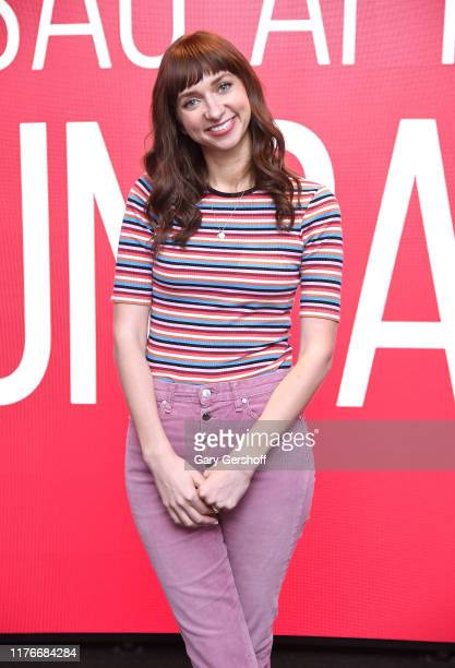 Actress Lauren Lapkus attends SAGAFTRA Foundation Conversations Between Two Ferns at The Robin Williams Center on September 23 2019 in New York City