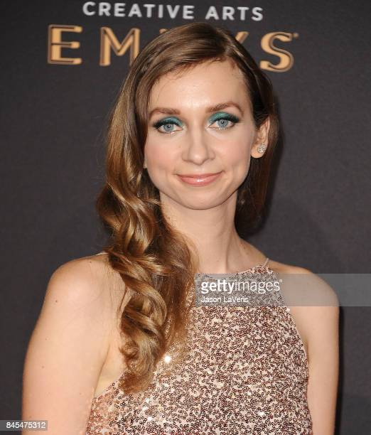 Actress Lauren Lapkus attends the 2017 Creative Arts Emmy Awards at Microsoft Theater on September 10 2017 in Los Angeles California