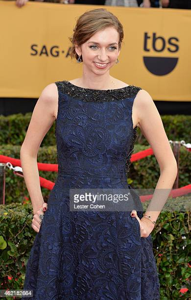 Actress Lauren Lapkus attends the 21st Annual Screen Actors Guild Awards at The Shrine Auditorium on January 25 2015 in Los Angeles California