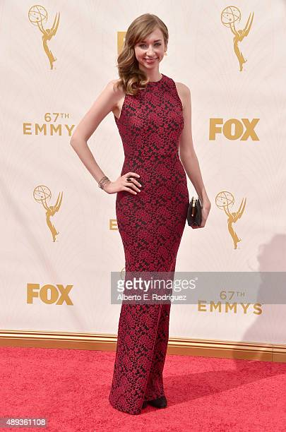 Actress Lauren Lapkus attends the 67th Emmy Awards at Microsoft Theater on September 20, 2015 in Los Angeles, California. 25720_001