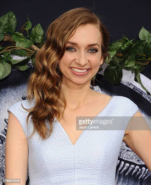 Actress Lauren Lapkus attends the premiere of Jurassic World at Dolby Theatre on June 9 2015 in Hollywood California