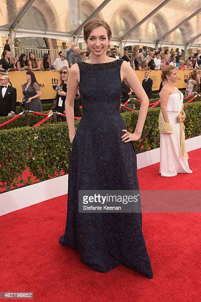 Actress Lauren Lapkus attends TNT's 21st Annual Screen Actors Guild Awards at The Shrine Auditorium on January 25, 2015 in Los Angeles, California....