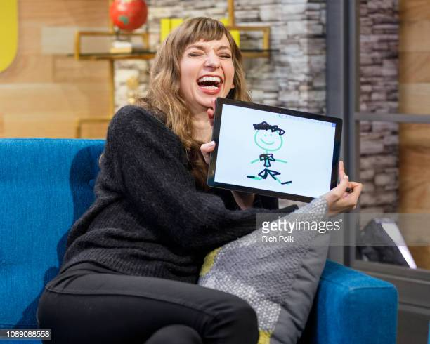 Actress Lauren Lapkus visits 'The IMDb Show' on December 7 2018 in Studio City California This episode of 'The IMDb Show' airs on January 3 2019