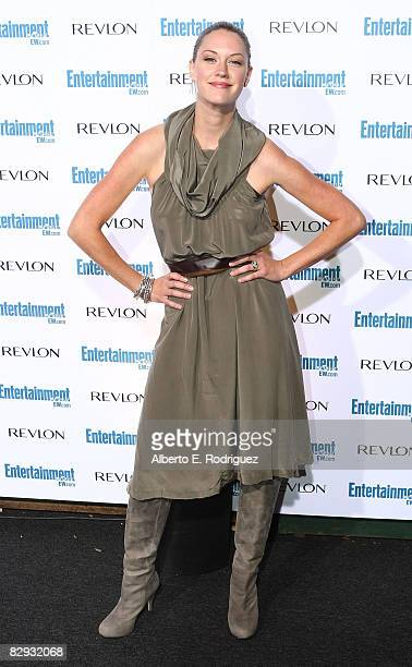 Actress Lauren Lee Smith arrives at the Entertainment Weekly's 6th annual preEmmy celebration held at the historic Beverly Hills Post Office on...