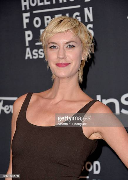 Actress Lauren Lee Smith arrives at the TIFF HFPA / InStyle Party during the 2013 Toronto International Film Festival at Windsor Arms Hotel on...