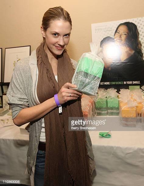 Actress Lauren Lee Smith at the Kari Feinstein Sundance Style Lounge on January 16 2009 in Park City Utah