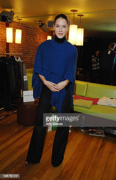 Actress Lauren Lee Smith at THINK PR's 3rd Annual PreSundance Lounge Day 2 at the Muse Life Style Group Lounge on January 9 2009 in Hollywood...