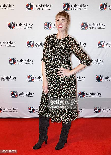 Actress Lauren Lee Smith attends the 15th Annual Film Festival at Whistler Conference Centre on December 5 2015 in Whistler Canada