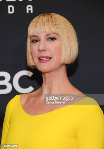 Actress Lauren Lee Smith attends the 2019 Canadian Screen Awards Broadcast Gala at Sony Centre for the Performing Arts on March 31 2019 in Toronto...