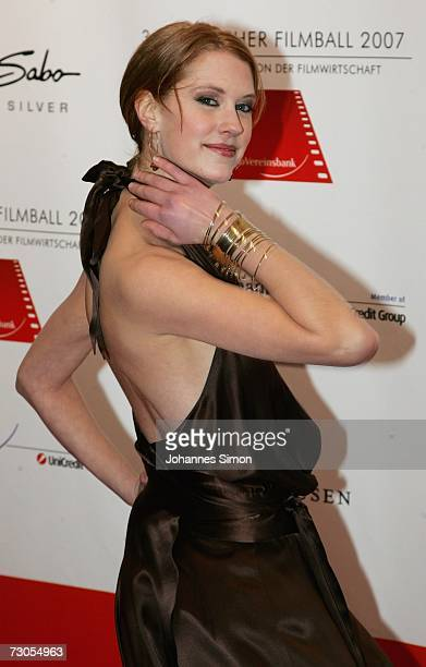Actress Lauren Lee Smith attends the 34th annual German Film Ball at the Bayerischer Hof Hotel January 20 2007 in Munich Germany