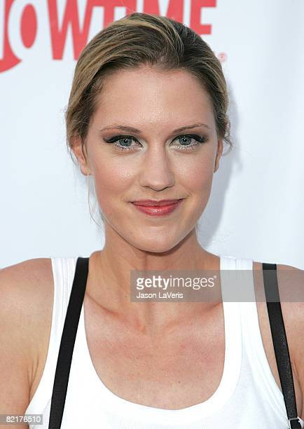 Actress Lauren Lee Smith attends the CBS CW Showtime Press Tour Stars Party at Boulevard3 on July 18 2008 in Hollywood California