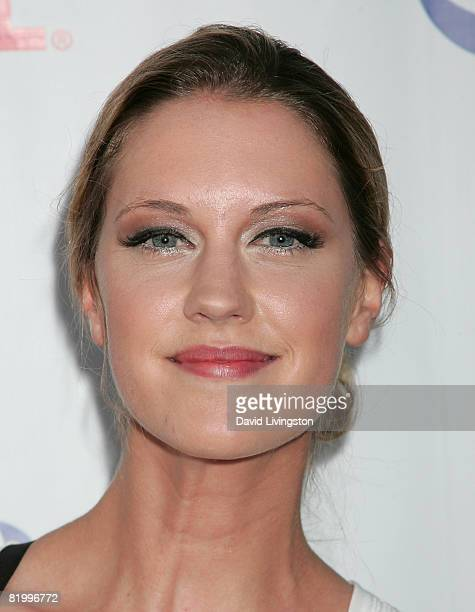 Actress Lauren Lee Smith attends the CW/CBS/Showtime/CBS Television TCA party at Boulevard3 on July 18 2008 in Hollywood California