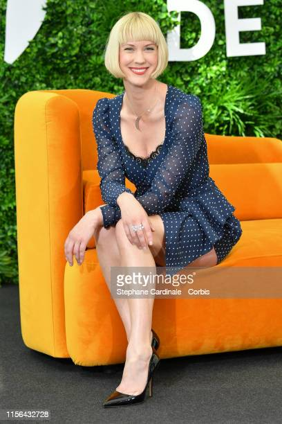 Actress Lauren Lee Smith from TV Serie Frankie Drake Mysteries attends the 59th Monte Carlo TV Festival Day Four on June 17 2019 in MonteCarlo Monaco