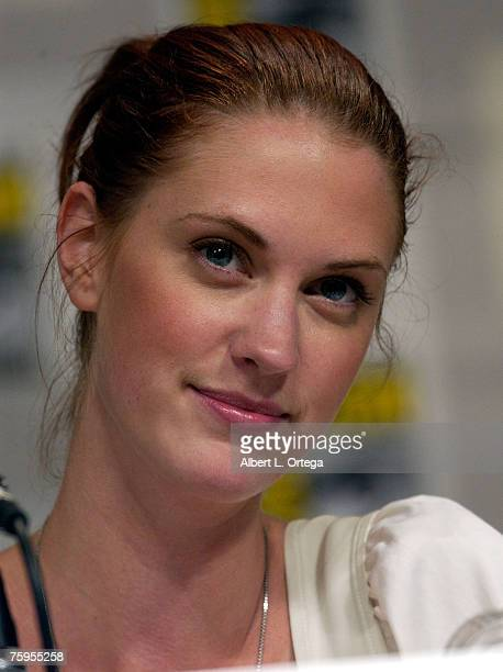 Actress Lauren Lee Smith of Pathology attends the 2007 ComicCon International on July 29 2007 at the San Diego Convention Center in San Diego...