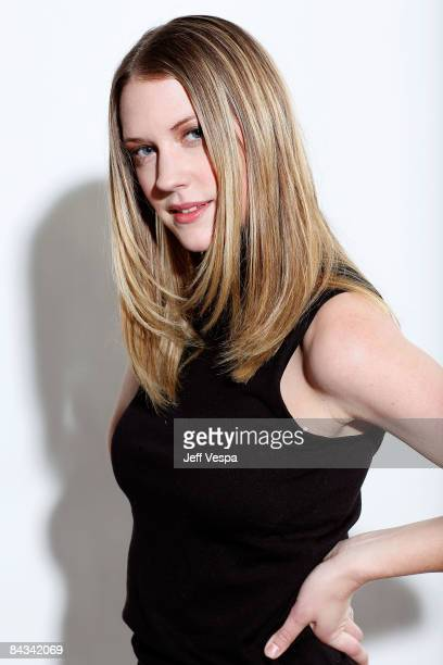 Actress Lauren Lee Smith poses for a portrait during the 2009 Sundance Film Festival held at the Film Lounge Media Center on January 17 2009 in Park...