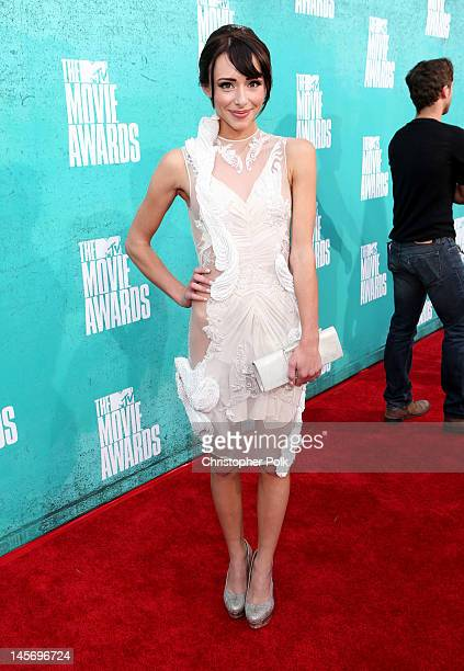 Actress Lauren Mcknight arrives at the 2012 MTV Movie Awards held at Gibson Amphitheatre on June 3 2012 in Universal City California