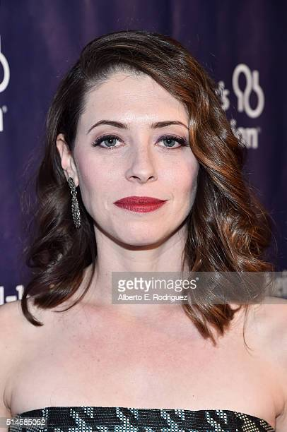 Actress Lauren Miller attends the 24th and final A Night at Sardi's to benefit the Alzheimer's Association at The Beverly Hilton Hotel on March 9...