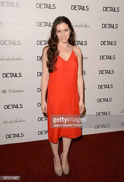 Actress Lauren Miller attends the DETAILS Hollywood Mavericks Party held at Soho House on November 29 2012 in West Hollywood California
