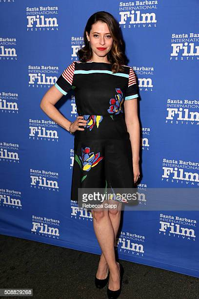 Actress Lauren Miller Rogen attends the Virtuosos Award at the Arlington Theater at the 31th Santa Barbara International Film Festival on February 6...