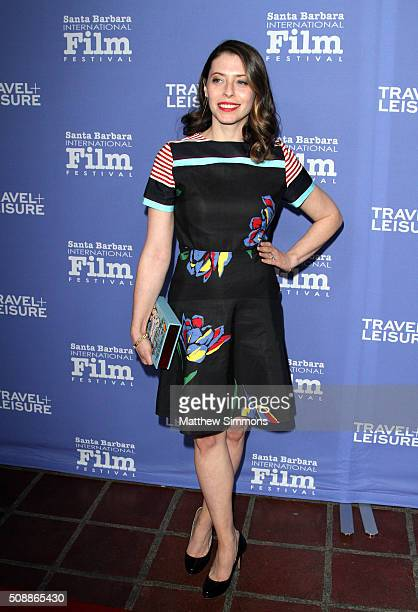 Actress Lauren Miller Rogen attends the Virtuosos Award at the Arlington Theater at the 31st Santa Barbara International Film Festival on February 6...