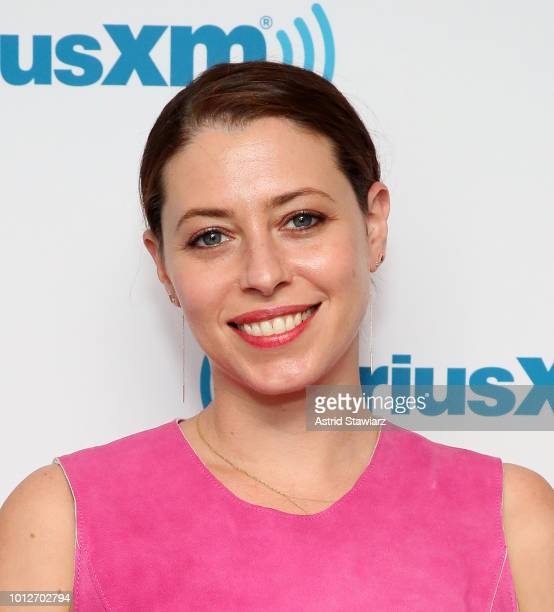 Actress Lauren Miller Rogen visits the SiriusXM studios on August 7 2018 in New York City
