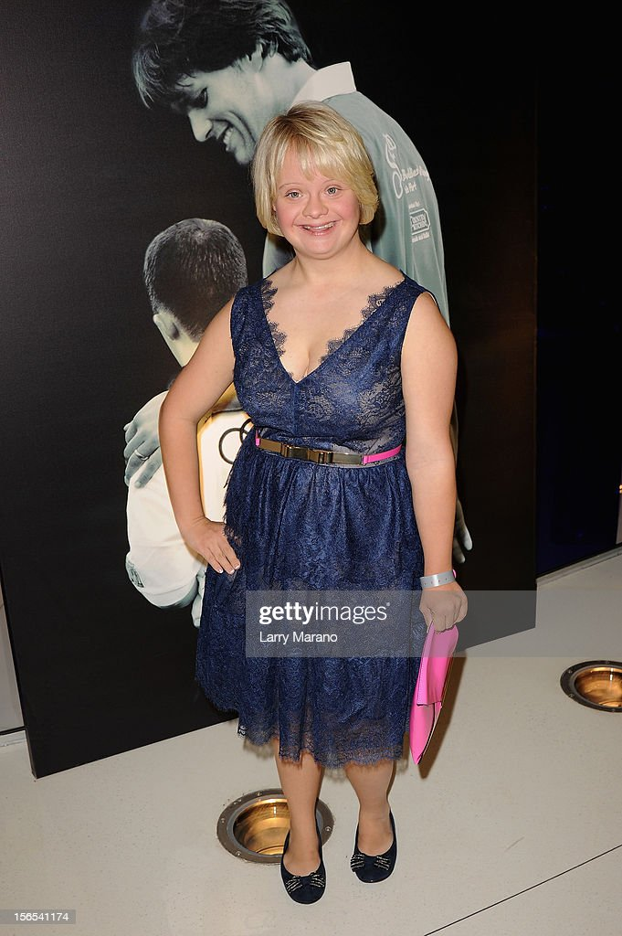 Actress Lauren Potter attends the Zenith Watches Best Buddies Miami Gala at Marlins Park on November 16, 2012 in Miami, Florida.