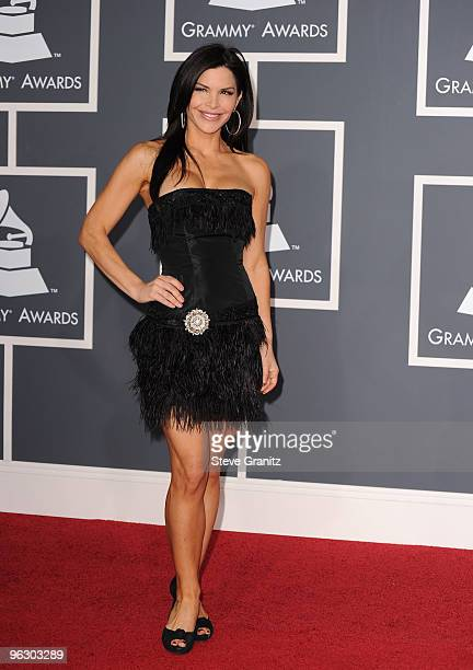 Actress Lauren Sanchez arrives at the 52nd Annual GRAMMY Awards held at Staples Center on January 31 2010 in Los Angeles California