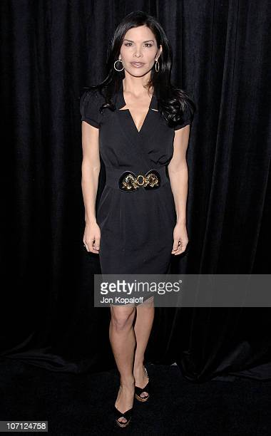 Actress Lauren Sanchez arrives at the DIC/InStyle's 9th Annual Awards Season Diamond Fashion Show Preview at Beverly Hills Hotel on January 14 2010...