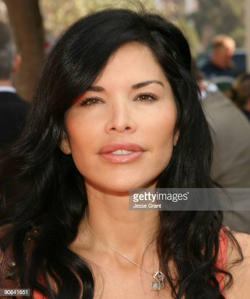 """Actress Lauren Sanchez arrives on the red carpet at the Los Angeles premiere of """"Cloudy With A Chance Of Meatballs"""" at the Mann Village Theatre on..."""