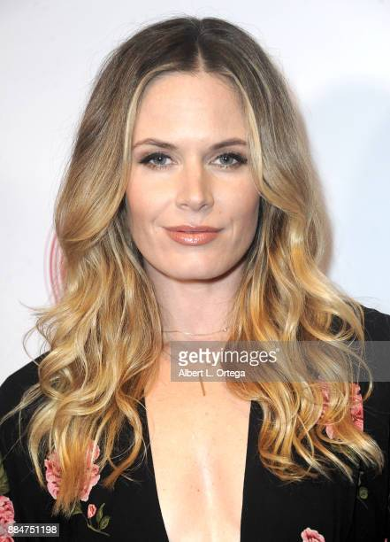 Actress Lauren Shaw arrives for the TJ Scott Book Launch For 'In The Tub Volume 2' held at Cinematic Pictures Group Gallery on December 2 2017 in...