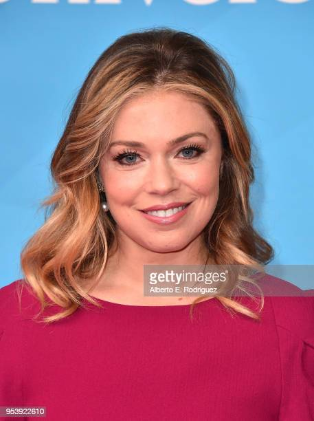 Actress Lauren Sivan attends NBCUniversal's Summer Press Day 2018 at The Universal Studios Backlot on May 2 2018 in Universal City California