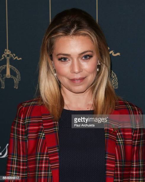 Actress Lauren Sivan attends the Brooks Brothers and StJude Annual Holiday Party at Brooks Brothers Rodeo on December 2 2017 in Beverly Hills...