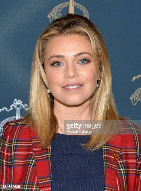 Actress Lauren Sivan attends the Brooks Brothers holiday celebration with St Jude Children's Research Hospital at Brooks Brothers Rodeo on December 2...