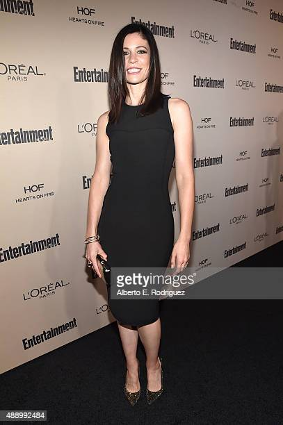 Actress Lauren Stamile attends the 2015 Entertainment Weekly Pre-Emmy Party at Fig & Olive Melrose Place on September 18, 2015 in West Hollywood,...