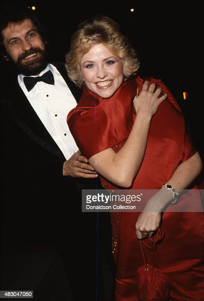 Actress Lauren Tewes and her husband John Wassel attend Love Boat Honors Helen Hayes Gala at the Beverly Hilton Hotel on February 22 1980 in Los...