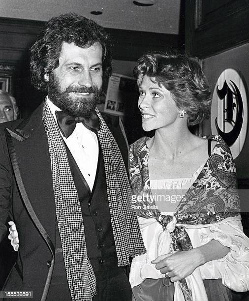 Actress Lauren Tewes and husband John Wassel attend Fourth Annual People's Choice Awards on February 20 1978 in Los Angeles California