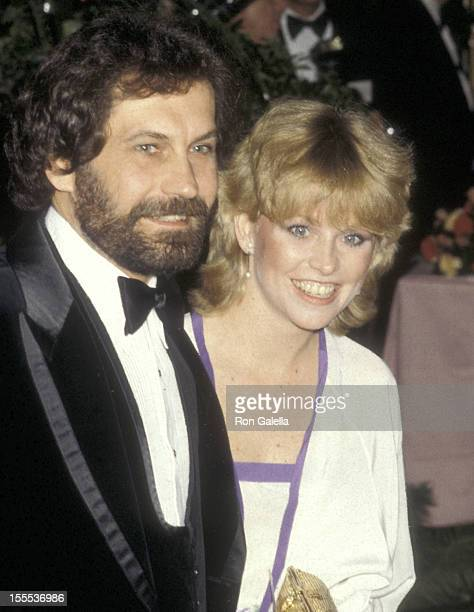 Actress Lauren Tewes and husband John Wassel attend the 37th Annual Golden Globe Awards on January 26 1980 at Beverly Hilton Hotel in Beverly Hills...