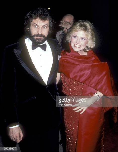 Actress Lauren Tewes and husband John Wassel attend The Love Boat Honors Helen Hayes on February 22 1980 at Beverly Hills Hotel in Beverly Hills...
