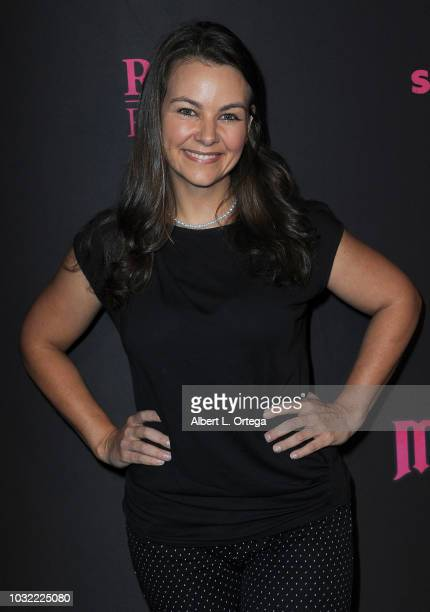 Actress Lauren White arrives for the Los Angeles special screening and QA of 'Mandy' at Beyond Fest held at the Egyptian Theatre on September 11 2018...